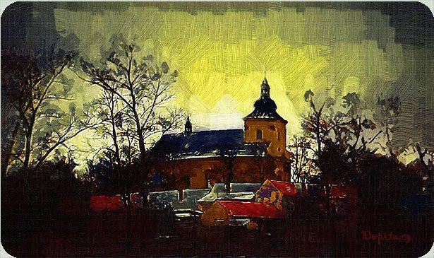 Kostel sv. Bartoloměje, Vrahovice